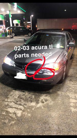 acura tl parts needed for Sale in Richmond, VA