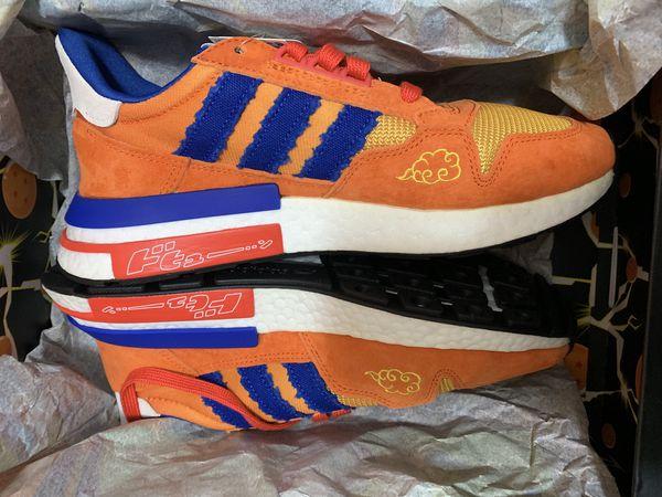 Dragon Ball Z Goku Adidas collection Shoes