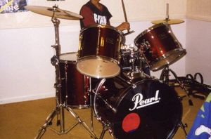 Pearl drum set and cases for Sale in Gaithersburg, MD