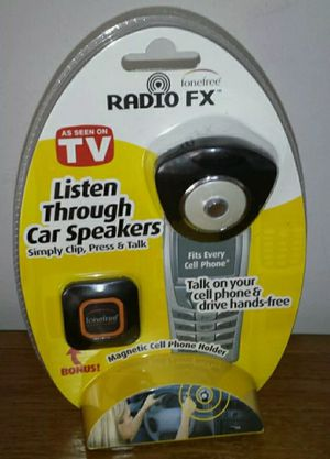 """Fonefree Radio FX """"As Seen On TV"""" Talk on Phone Hands Free in Car !New for Sale in Palatine, IL"""
