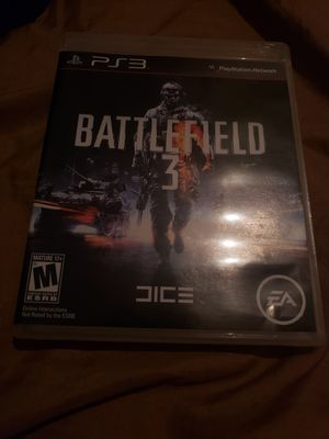 PS3   BATTLEFIELD 3 for Sale in Boiling Springs, SC