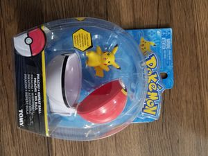Pokemon pikachu +repeat ball Tomy for Sale in Brooklyn, NY