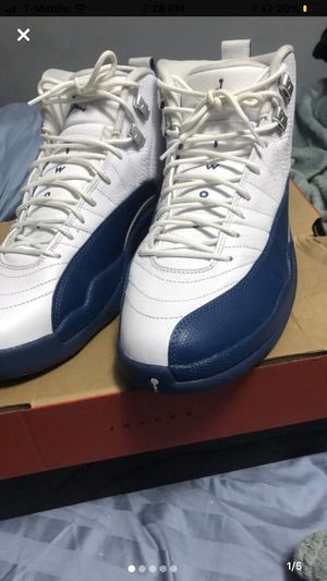 Jordan retro 12 French blue for Sale in Brooklyn, NY