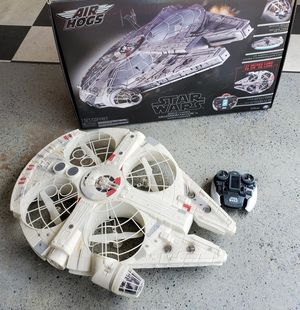 Star Wars millennium Falcon remote control drone for Sale in Morton Grove, IL
