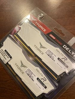 T-Force Delta RGB 16gb 3000MHz Ram for Sale in St. Helens,  OR