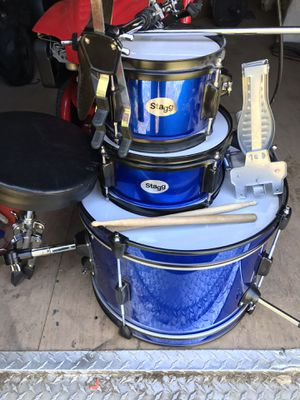 Child's Beginner Drum Set(Stagg) for Sale in Rocky Mount, NC