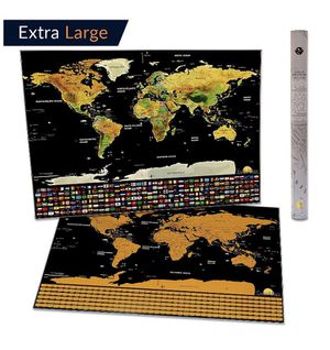 World scratch off map extra large for Sale in Miami, FL