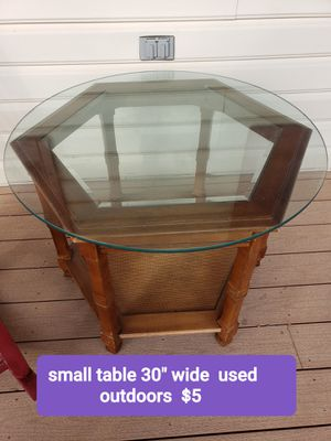 Glass table for Sale in Martinsburg, WV