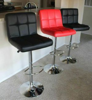 New bar stools in box/ adjustable barstools 2 for 150 for Sale in Atlanta, GA