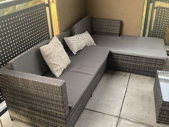 Outside Sectional Sofa and Chair for Sale in Corona,  CA