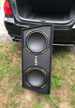 12 inch SDX pro audio subwoofers for Sale in Nashua, NH