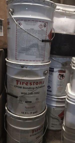 Rubber roof glue for Sale in Brockton, MA