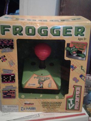 Frogger plug and play arcade game for Sale in Ocala, FL