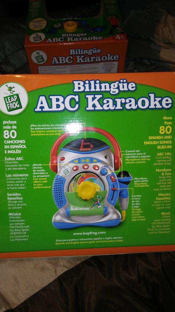 Leapfrog Bilingual ABC Karaoke for Sale in Apple Valley, CA - OfferUp