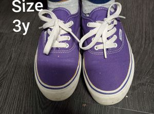 Purple Van's size 3y for Sale in Renton, WA