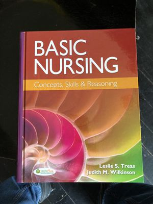 Basic nursing: concepts skills and reasoning (F.A. Davis) for Sale in East Wenatchee, WA