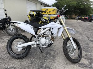 SSR 450S - Dirt Bike with Electric Start for Sale in PT CHARLOTTE, FL