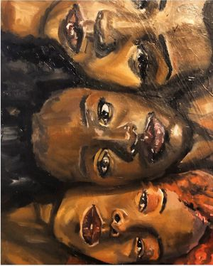 "16 X 20 painting ""Sisterhood"" for Sale in Takoma Park, MD"