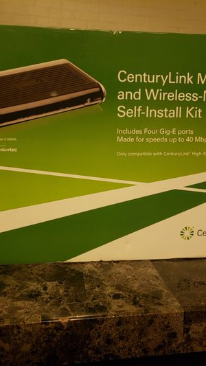 CenturyLink Modem And Wireless-N Router for Sale in Denver, CO