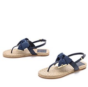 Tory Burch Penny Flat Bow Espadrille Thong Sandles for Sale in Palm Beach Gardens, FL