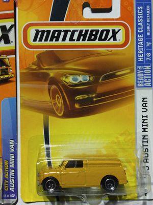 Austin Mini Van Matchbox - Cooper bmw Mercedes MG Fiat Hot wheels for Sale in Norwalk, CA