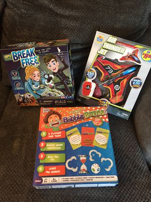 Lot of three kids games/activities for Sale in Southington, CT