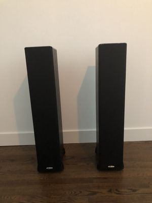 Polk Audio tower floor speakers (sold as a pair) for Sale in Boulder, CO
