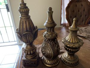 3 piece home interior set used 10.00 for everything Mpu by south Flores and E Harlan for Sale in San Antonio, TX