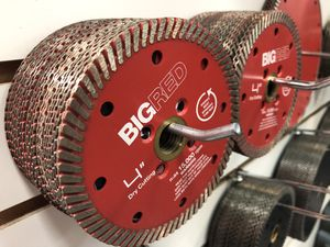 """4"""" Big Red Turbo Granite Blades for Sale in Pompano Beach, FL"""