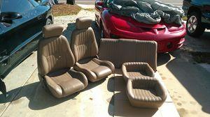 Tan Leather 1999 Firebird Seats for Sale in St. Petersburg, FL