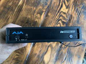 Aja IO Express video and audio in and out interface for Sale in Culver City, CA