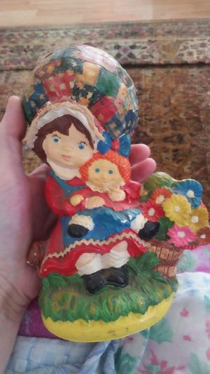 Old antique ceramic doll handmade for Sale in Kingsley, MI