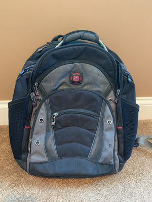 SwissGear - Synergy laptop backpack - Black/Gray for Sale in Northbrook, IL
