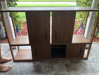 TV Stand/Sleeper Sectional Sofa for Sale in St. Petersburg,  FL