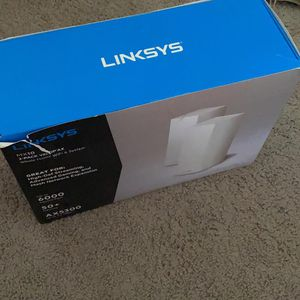 Linksys Velop Mx10600 WIFI 6 2 Devices for Sale in San Jose, CA