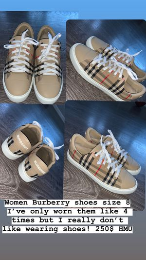 Women Burberry shoes for Sale in Irving, TX