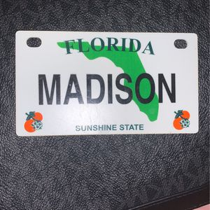 """""""MADISON"""" name tag for Sale in Vero Beach, FL"""