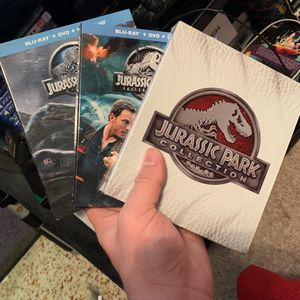 Jurassic park Movie collection (Blu-ray) for Sale in Sarasota, FL