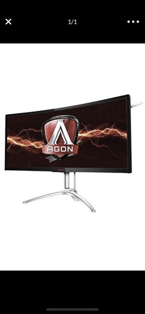 """AOC Agon AG352UCG6 35"""" Curved gaming Monitor 100hz 3440 x 1440p for Sale in Goodyear, AZ"""