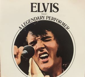 Elvis VOLUME1 A LEGENDARY PERFORMER CD for Sale in New York, NY