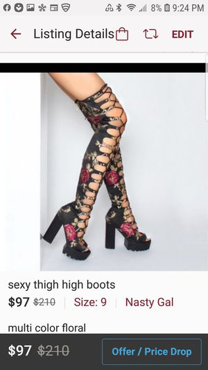 Thigh high boots for Sale in Philadelphia, PA