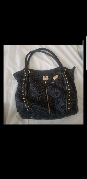 Coach black bag for Sale in Tampa, FL
