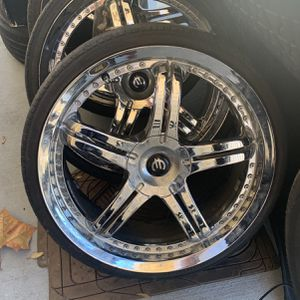 """20"""" Chrome Rims Good Condition for Sale in Port Richey, FL"""