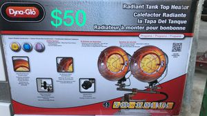 Dyna glo Radiant tank top heater for Sale in Bakersfield, CA