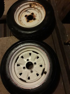(2) Spare boat trailer tires Carlisle Sure Trail ST - see desription for Sale in Lisle, IL