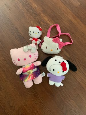 Hello Kitty plushy and purse bundle for Sale in Fresno, CA