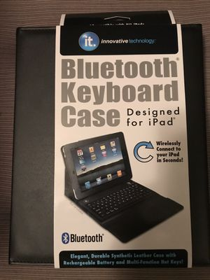 Bluetooth Keyboard Case for Sale in Rockford, IL