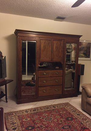Edwardian style (1910s) Genuine English Armoire for Sale in Weston, FL