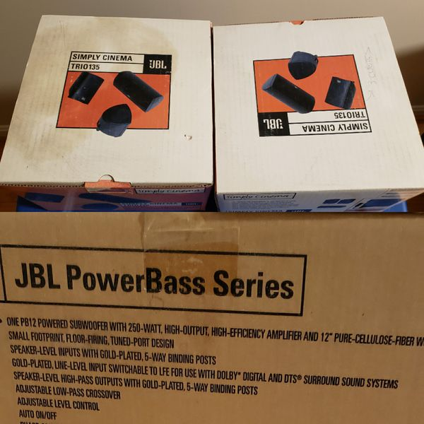 JBL Theater Speaker System