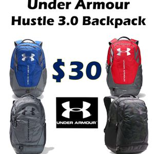Under Armour Hustle 3.0 Backpack Sales for Sale in Diamond Bar, CA